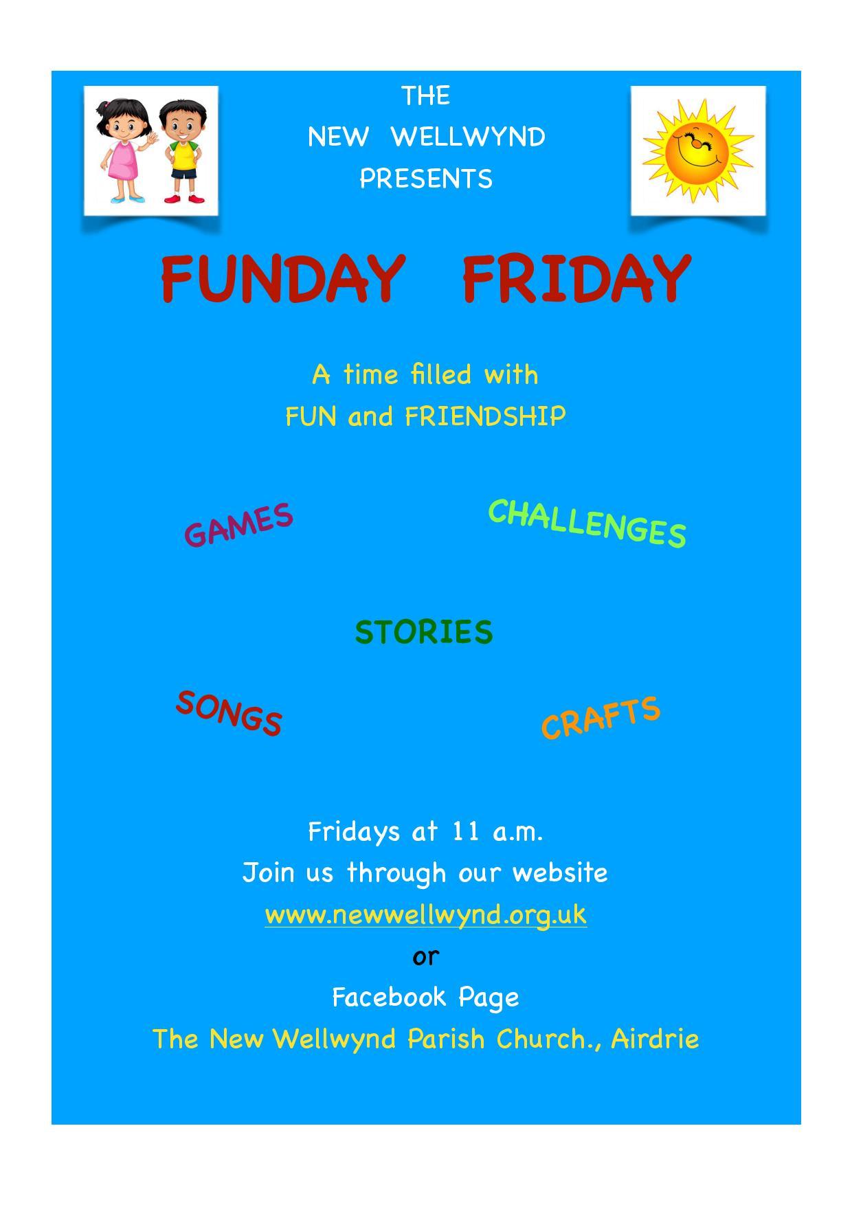 Funday Friday - Virtual Holiday Club