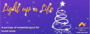 St. Andrew's Hospice - Light up a Life Service 2020 - Sunday 29th November 2020